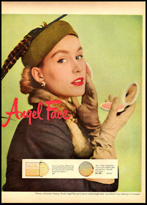 1951 vintage ad for Angel Face Cosmetics -507