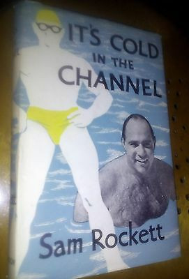 [signed first edition] It's Cold in the Channel by Sam Rockett