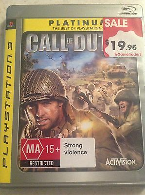 CALL OF DUTY - PS3 PAL - VGC With Booklet