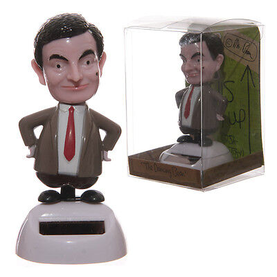 Mr Bean Solar Powered Dancing Dashboard Toy Moving Novelty 10.5cm FF46