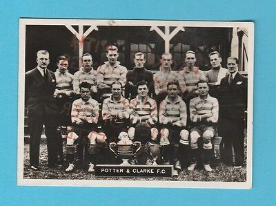 Football - Ardath - Southern Football Team  -  Potter  &  Clarke  F.c. - 1936