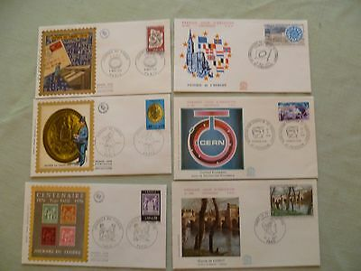 France - 19 x FDC and SE stamp covers