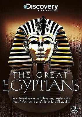 The Great Egyptians Series 1-2-THREE DVD SET-BRAND NEW SEALED