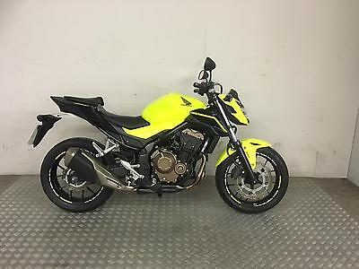 HONDA CB 500 F 2016 with 2800 miles A2 Licence bike