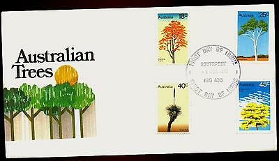 Australia FDC First Day Cover - 1978 Australian Trees