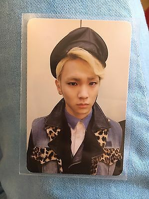[RARE] SHINee Key Photocard Misconceptions Of Me Why So Serious Photo Card