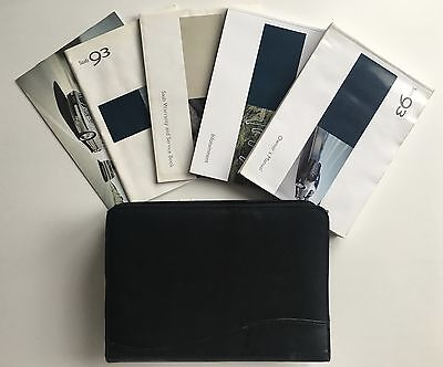 Saab 9-3 93 Owners Manual Handbook Pack With Wallet & Service Book 2002-2006