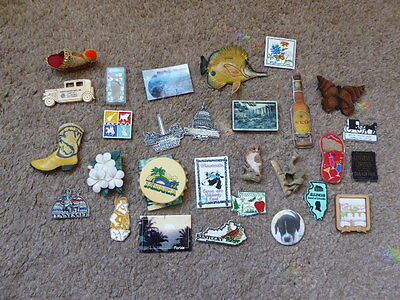 Collection Of Worldwide Fridge Magnets ( Mainly USA )