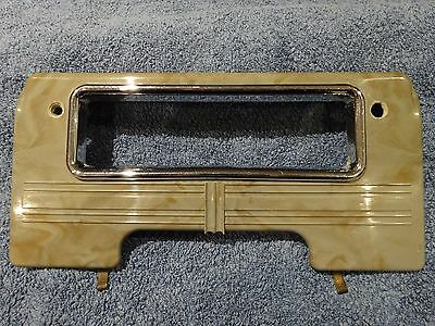Vintage Standard Vanguard Phase I Or Ii Plastic Radio Surround