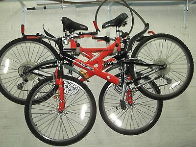 2 mountain bikes 21 speed full suspension