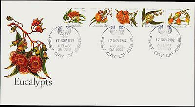 Australia FDC First Day Cover - 1982 Eucalypts