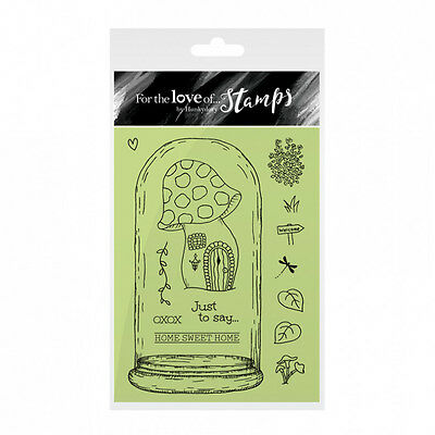 Hunkydory For The Love of Stamps Clear Stamp Set - HOME IN A DOME