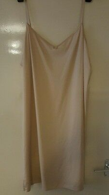 Pack Of 2 Under Slip/chemise From M&s Size 20