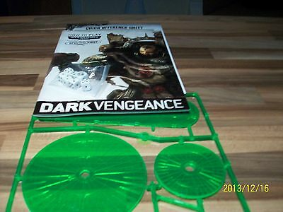 Dark Vengeange,how To Play (Latest)  Blast Templates Dice & Reference Sheet