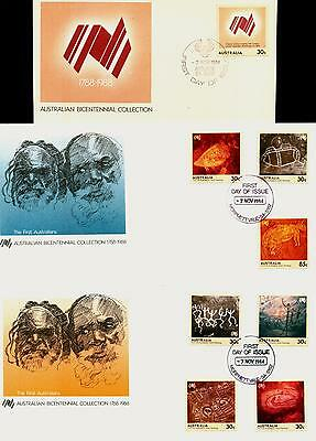 Australia FDC First Day Cover - 1984 First Australians