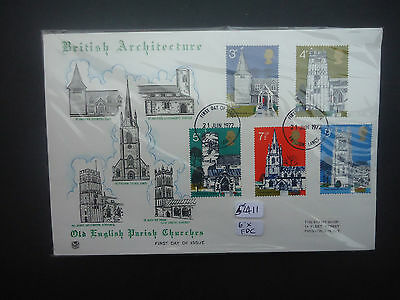 Great Britain 1972 Year Set (No Handwritten) 6x First Day Covers (52411)