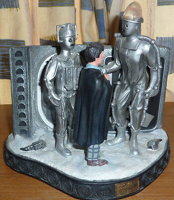 Doctor Who Diorama Set Tomb of the Cybermen Product Enterprise GOOD CONDITION