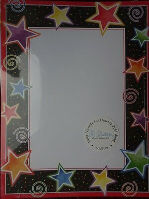 new STAR FRAME Party STATIONARY LETTERHEAD INVITATION Paper - 100 Sheets