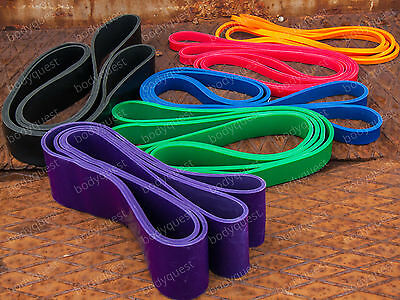 RESISTANCE crossfit EXERCISE BANDS NEW FITNESS TRAINING LOOP STRENGTH PULLUP MMA