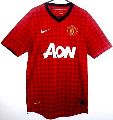 Excellent! Manchester United Home Shirt 2012/2013 S Small 32 - 34 10/11 Man Utd