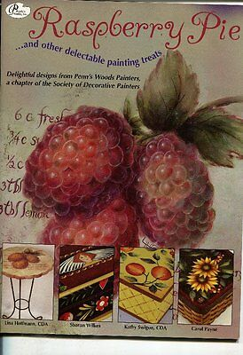 PAINTING BOOK - RASPBERRY PIE and other delectable painting treats
