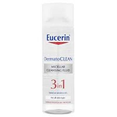 Eucerin DermatoCLEAN Micellar Cleansing Fluid 3 in 1 All Skin Types 200ml
