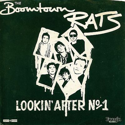 The Boomtown Rats - Lookin' After No, 1 - 12inch Single - Rare