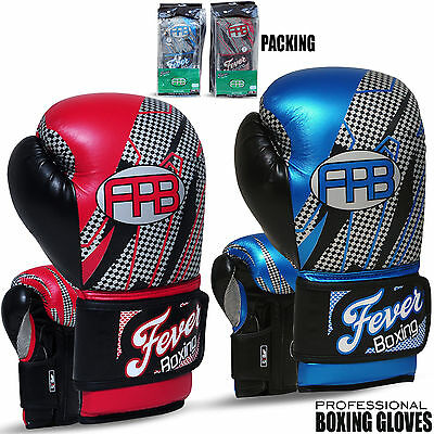 Boxing Sparring Gloves Punch Bag Mitts Training Professional MMA 10oz to 16oz