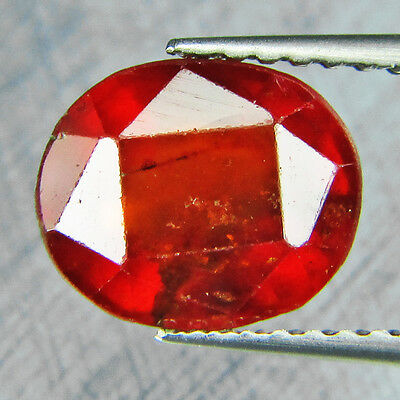 Oval Hessonite Garnet Oval Shape 2.41 cts Gemstone F502