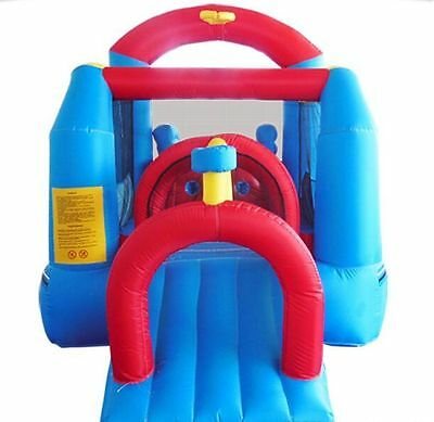 Inflatable Bounce House Castle fun Slide Obstacle Course commercial