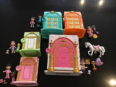 A selection of key tweens houses and dolls