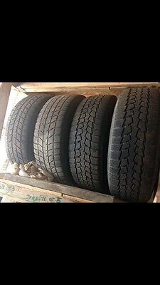 Winter tires and rims 235/65R16