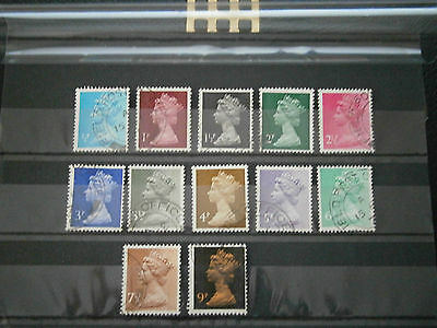 1971 Gb Stamps- England 15Th Febuary -Definitives--Used