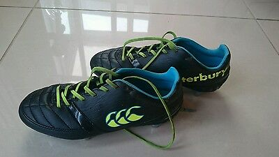 Canterbury rugby boots size 3 black