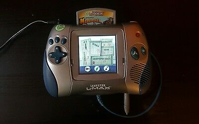 leapster L MAX  learning game system with a game