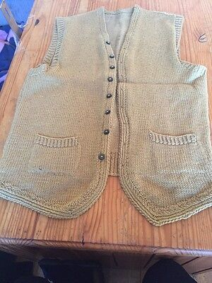 Knitted Waistcoat With Pockets