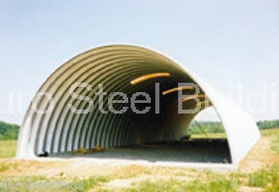 DuroSPAN Steel 30x40x14 Metal Quonset Arch Building Structure Open Ends DiRECT
