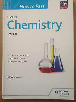 Chemistry How to pass, CfE, SQA