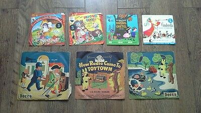Vintage nursery rhyme records offers welcome