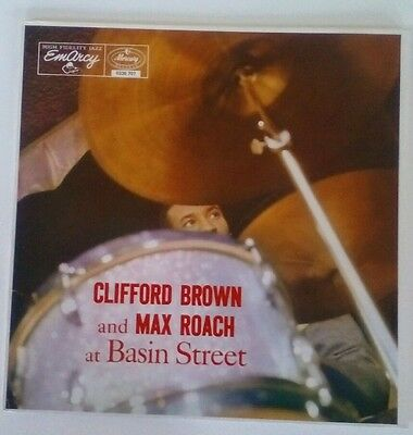 Clifford Brown & Max Roach at Basin Street - Emarcy Jazz Series Ex+