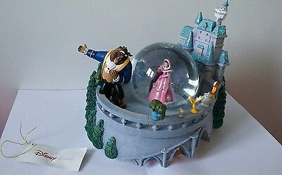 Disney  Store Exclusive Beauty and the Beast Snowglobe - with original box.