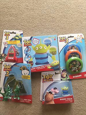 Brand New and Sealed Boxed Toy Story items Disney Pixar