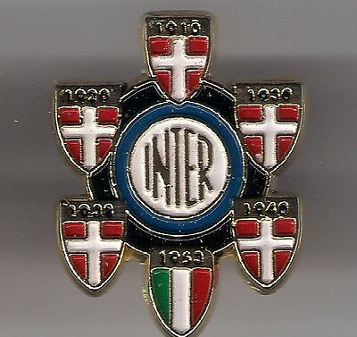 Distintivo Inter Milano Calcio Clip Badge Pins Scudetti