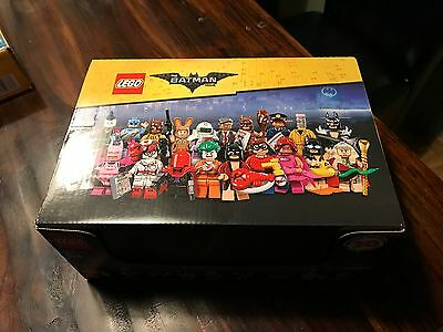 Lego Batman Movie Series CASE 60 MINIFIGURES PACKS PACK SEALED BROWN BOX 71017