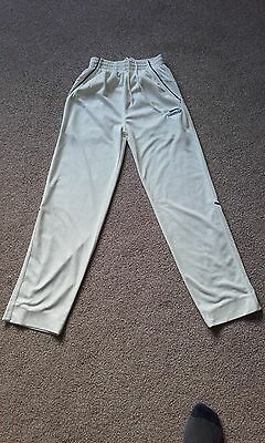 GOOD CONDITION - SLAZENGER - Boy's Cricket White Trousers - 9/10 Years