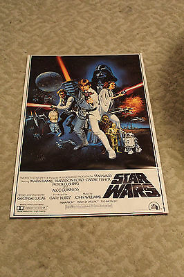 Star Wars 1977 Lucasfilm Ltd movie poster