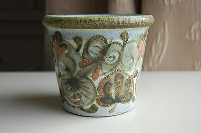 "Denby Small Planter - inscribed ""Glyn Colledge"""