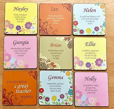 Job lot of 1,000 Assorted Personalised Coasters