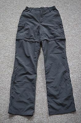The North Face Women's Convertible Walking Trousers / Shorts | Size XS | Dk Grey