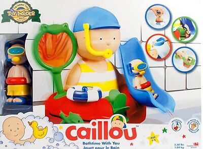 Caillou Bath Time With You Playset